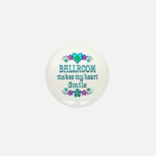 Ballroom Smiles Mini Button (10 pack)