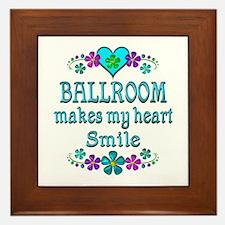 Ballroom Smiles Framed Tile