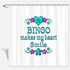 Bingo Smiles Shower Curtain