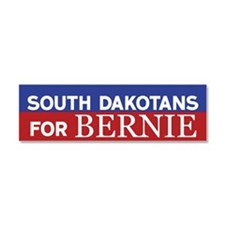 South Dakotans for Bernie Car Magnet 10 x 3