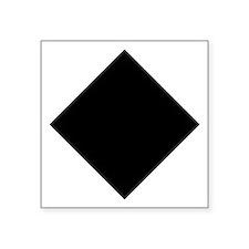 """Cute Half pipe Square Sticker 3"""" x 3"""""""