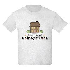 Home Sweet Homeschool Kids Grey T-Shirt