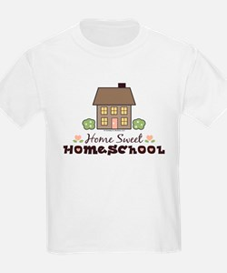 Home Sweet Homeschool Kids T-Shirt