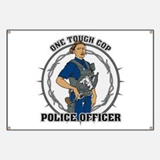 One Tough Female Cop Banner
