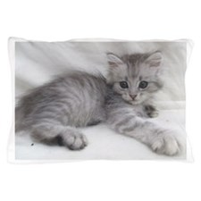 Miakira Siberian Kittens Pillow Case