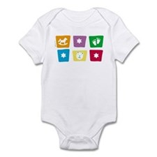 star of david Infant Bodysuit