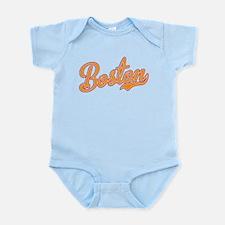 Boston Script Gold VINTAGE Infant Bodysuit