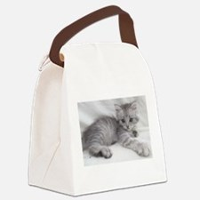 Unique Kitten Canvas Lunch Bag