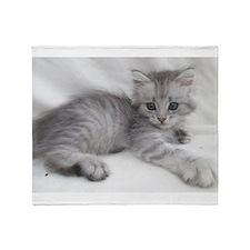 Cute Cat lover Throw Blanket
