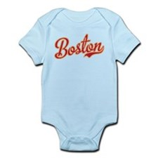 Boston Script Gold VINTAGE Infant Bodysuit