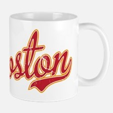 Boston Script Gold VINTAGE Mug