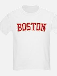 Boston Script Gold VINTAGE T-Shirt