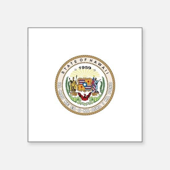 """Unique American cities Square Sticker 3"""" x 3"""""""