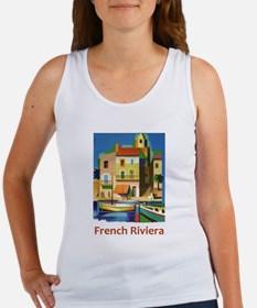 French Riviera ~ Vintage Travel Tank Top