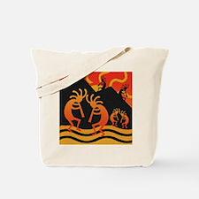 Kokopelli Southwest Design Tote Bag