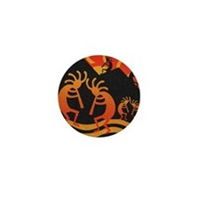 Kokopelli Southwest Design Mini Button