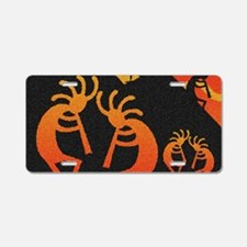 Kokopelli Southwest Design Aluminum License Plate