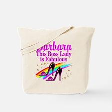 CUSTOM BOSS LADY Tote Bag