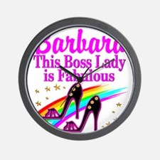CUSTOM BOSS LADY Wall Clock