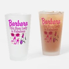 CUSTOM BOSS LADY Drinking Glass