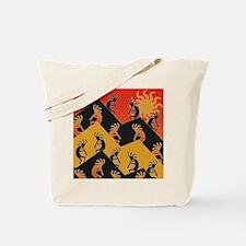 Kokopelli Southwestern Design Tote Bag