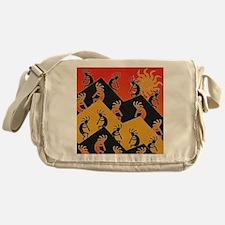 Kokopelli Southwestern Design Messenger Bag
