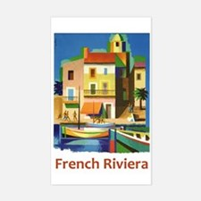 French Riviera ~ Vintage Travel Decal