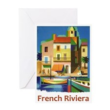 French Riviera ~ Vintage Travel Greeting Cards
