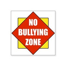No Bullying Zone Sticker
