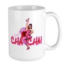Dirty Dancing Let's Cha Large Mug Mugs