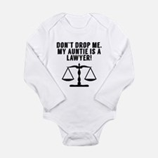 Don't Drop Me My Auntie Is A Lawyer Body Suit