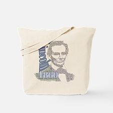 Lincoln 1860 Tote Bag