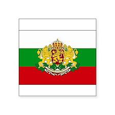 "Cute Bulgarian Square Sticker 3"" x 3"""