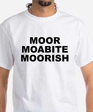 Moor Moabite Moorish Men's White T-Shirt
