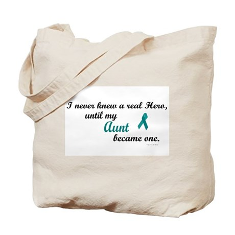Never Knew A Hero OC (Aunt) Tote Bag
