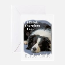 Border Collie-3 Greeting Card