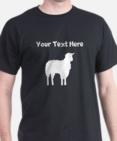 Custom Lamb Silhouette T-Shirt
