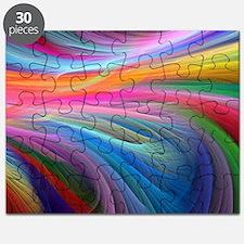 rainbow feathery Puzzle