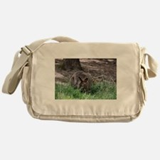 Cute Wallabies Messenger Bag