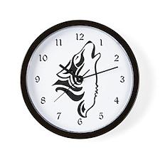 Howling- Wall Clock