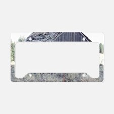 Ghost Town License Plate Holder