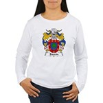 Barron Family Crest Women's Long Sleeve T-Shirt