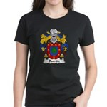 Barron Family Crest Women's Dark T-Shirt