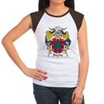 Barron Family Crest Women's Cap Sleeve T-Shirt