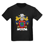 Barron Family Crest Kids Dark T-Shirt