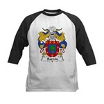 Barron Family Crest Kids Baseball Jersey