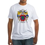 Barron Family Crest Fitted T-Shirt