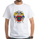 Barron Family Crest White T-Shirt