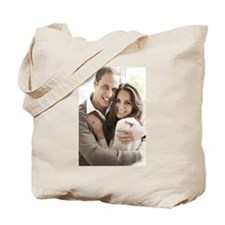 Prince William and Kate Tote Bag