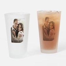 Prince William and Kate Drinking Glass